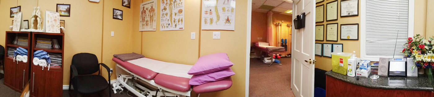 Guildwood Physiotherapy Treatment Room