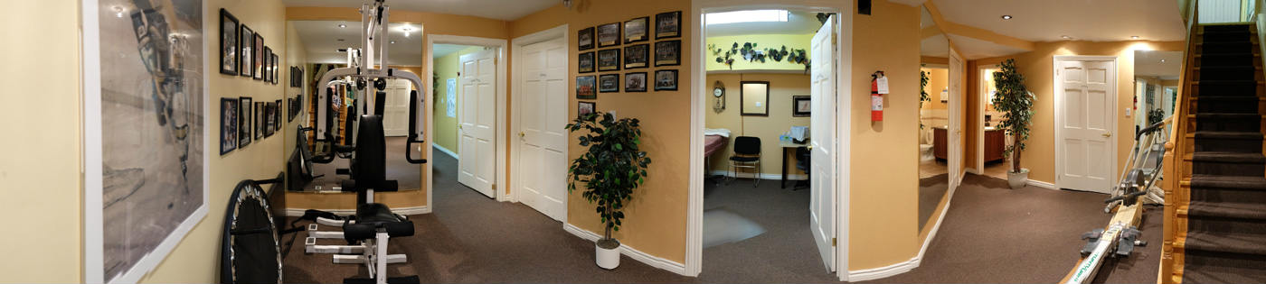 Guildwood Physiotherapy Massage Room